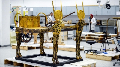 The Grand Egyptian Museum Tour