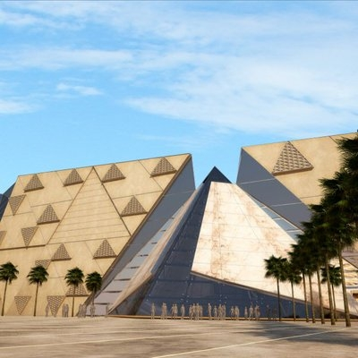 The Grand Egyptian Museum & Giza Pyramids Tour