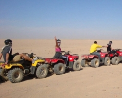 Quad Biking Tour in the Desert from Sharm el Sheikh