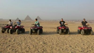 Half Day Tour Quad Biking around the Pyramids
