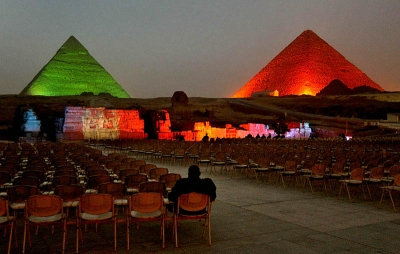 Sound & Light Show at the Pyramids