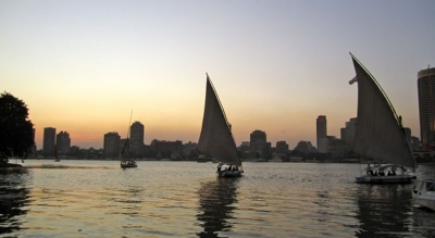 Option 4: Pyramids, Sphinx, Nile Felucca, Bazaar